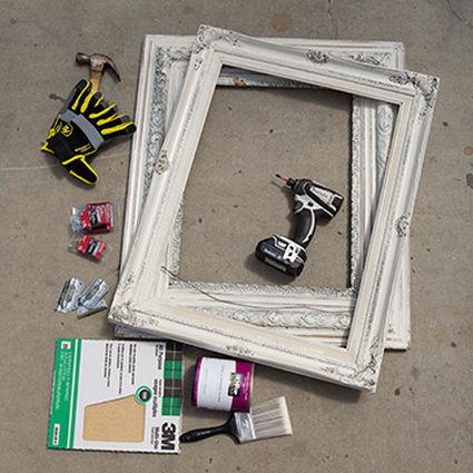 frame planter materials