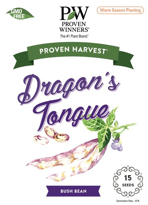Dragon's Tongue seed packet