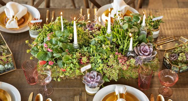diy wedding tabletop decor